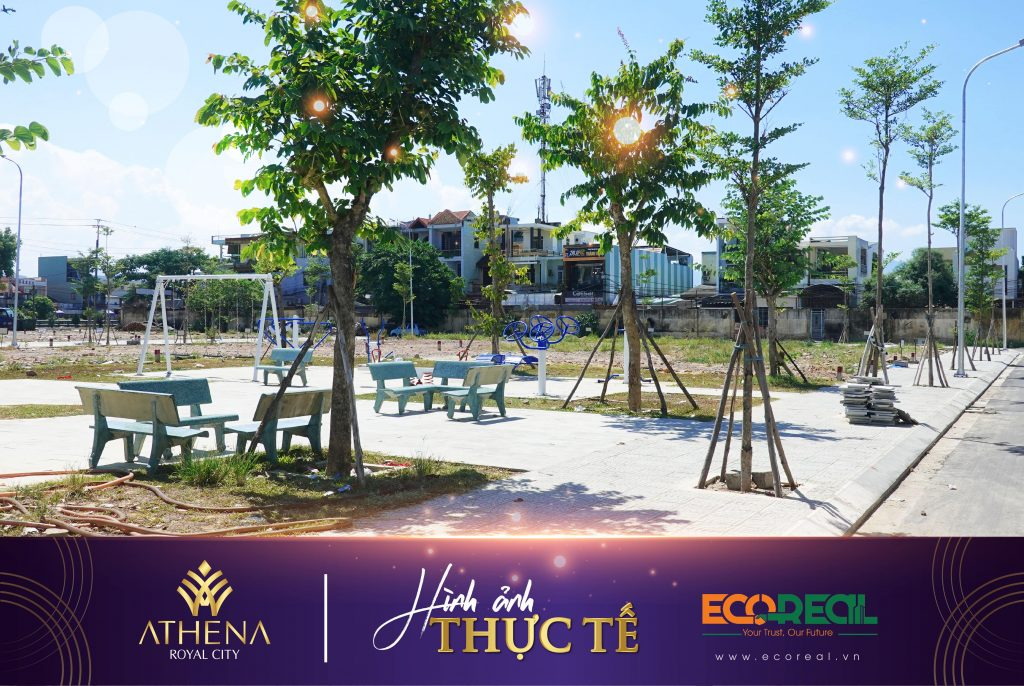 Cảnh quan thiên nhiên - Dự án Athena Royal City | Bất động sản Ecoreal | Dự án Royal City Đà Nẵng | shophouse Trung Tâm Đà Nẵng | Đất nền trung tâm Đà Nẵng